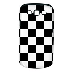 Checkered Flag Race Winner Mosaic Tile Pattern Samsung Galaxy S Iii Classic Hardshell Case (pc+silicone)