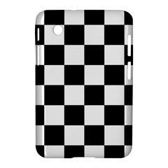 Checkered Flag Race Winner Mosaic Tile Pattern Samsung Galaxy Tab 2 (7 ) P3100 Hardshell Case