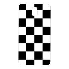 Checkered Flag Race Winner Mosaic Tile Pattern Samsung Galaxy Note 3 N9005 Hardshell Back Case