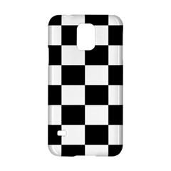 Checkered Flag Race Winner Mosaic Tile Pattern Samsung Galaxy S5 Hardshell Case