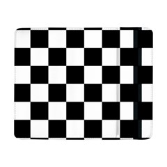 Checkered Flag Race Winner Mosaic Tile Pattern Samsung Galaxy Tab Pro 8.4  Flip Case