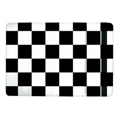 Checkered Flag Race Winner Mosaic Tile Pattern Samsung Galaxy Tab Pro 10.1  Flip Case