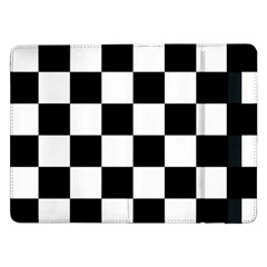 Checkered Flag Race Winner Mosaic Tile Pattern Samsung Galaxy Tab Pro 12.2  Flip Case