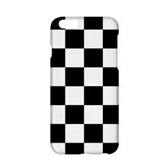 Checkered Flag Race Winner Mosaic Tile Pattern Apple iPhone 6 Hardshell Case