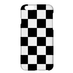 Checkered Flag Race Winner Mosaic Tile Pattern Apple iPhone 6 Plus Hardshell Case