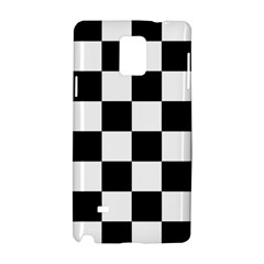 Checkered Flag Race Winner Mosaic Tile Pattern Samsung Galaxy Note 4 Hardshell Case
