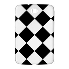 Harlequin Diamond Mosaic Tile Pattern Black White Samsung Galaxy Note 8 0 N5100 Hardshell Case
