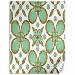 Luxury Decorative Pattern Collage Canvas 18  X 24  (unframed)