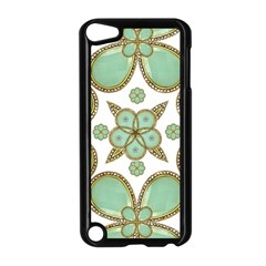 Luxury Decorative Pattern Collage Apple Ipod Touch 5 Case (black)