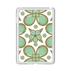 Luxury Decorative Pattern Collage Apple iPad Mini 2 Case (White)