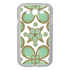 Luxury Decorative Pattern Collage Samsung Galaxy Grand DUOS I9082 Case (White)