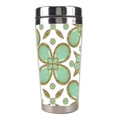 Luxury Decorative Pattern Collage Stainless Steel Travel Tumbler