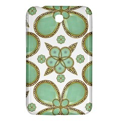 Luxury Decorative Pattern Collage Samsung Galaxy Tab 3 (7 ) P3200 Hardshell Case