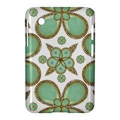 Luxury Decorative Pattern Collage Samsung Galaxy Tab 2 (7 ) P3100 Hardshell Case