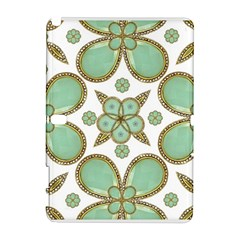 Luxury Decorative Pattern Collage Samsung Galaxy Note 10.1 (P600) Hardshell Case