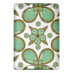 Luxury Decorative Pattern Collage Kindle Fire HD (2013) Hardshell Case