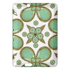 Luxury Decorative Pattern Collage Kindle Fire Hdx Hardshell Case