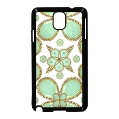 Luxury Decorative Pattern Collage Samsung Galaxy Note 3 Neo Hardshell Case (Black)