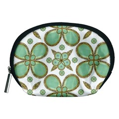 Luxury Decorative Pattern Collage Accessory Pouch (Medium)