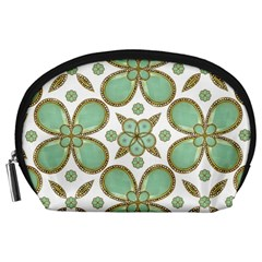 Luxury Decorative Pattern Collage Accessory Pouch (Large)