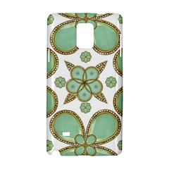 Luxury Decorative Pattern Collage Samsung Galaxy Note 4 Hardshell Case