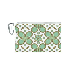 Luxury Decorative Pattern Collage Canvas Cosmetic Bag (Small)