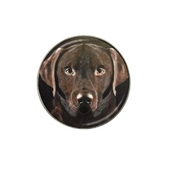Chocolate Lab Golf Ball Marker (for Hat Clip)