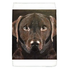 Chocolate Lab Removable Flap Cover (large)