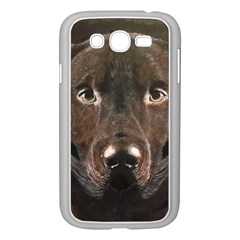 Chocolate Lab Samsung Galaxy Grand DUOS I9082 Case (White)