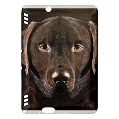 Chocolate Lab Kindle Fire HDX Hardshell Case