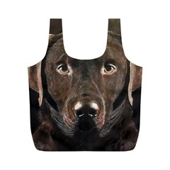 Chocolate Lab Reusable Bag (M)