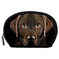 Chocolate Lab Accessory Pouch (Large)