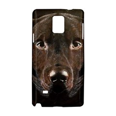 Chocolate Lab Samsung Galaxy Note 4 Hardshell Case