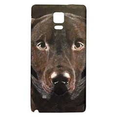 Chocolate Lab Samsung Note 4 Hardshell Back Case