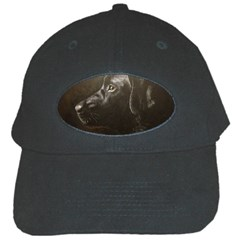Black Lab Black Baseball Cap