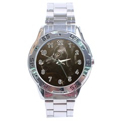 Black Lab Stainless Steel Watch