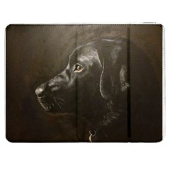 Black Lab Samsung Galaxy Tab 7  P1000 Flip Case