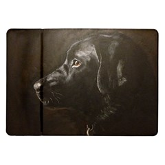 Black Lab Samsung Galaxy Tab 10 1  P7500 Flip Case