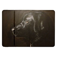 Black Lab Samsung Galaxy Tab 8.9  P7300 Flip Case