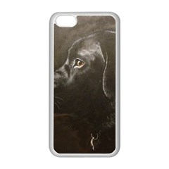Black Lab Apple Iphone 5c Seamless Case (white)