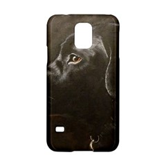 Black Lab Samsung Galaxy S5 Hardshell Case