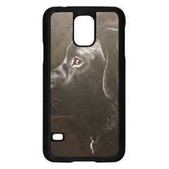 Black Lab Samsung Galaxy S5 Case (Black)
