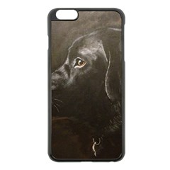 Black Lab Apple iPhone 6 Plus Black Enamel Case