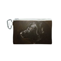 Black Lab Canvas Cosmetic Bag (Small)