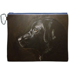 Black Lab Canvas Cosmetic Bag (xxxl)