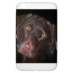 Inquisitive Chocolate Lab Samsung Galaxy Tab 3 (8 ) T3100 Hardshell Case