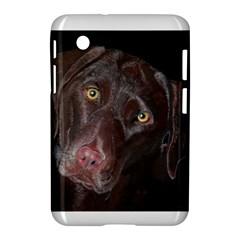 Inquisitive Chocolate Lab Samsung Galaxy Tab 2 (7 ) P3100 Hardshell Case