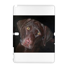 Inquisitive Chocolate Lab Samsung Galaxy Note 10 1 (p600) Hardshell Case
