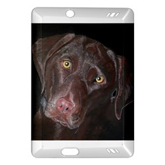 Inquisitive Chocolate Lab Kindle Fire HD (2013) Hardshell Case