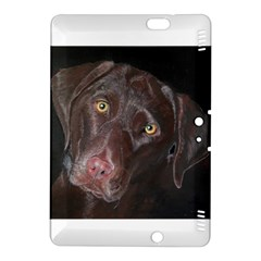 Inquisitive Chocolate Lab Kindle Fire HDX 8.9  Hardshell Case